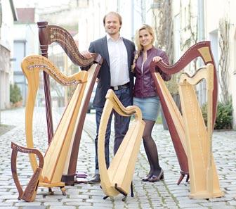 Marion und Stefan Hensel Harfe